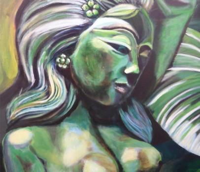 Balinesische Göttin