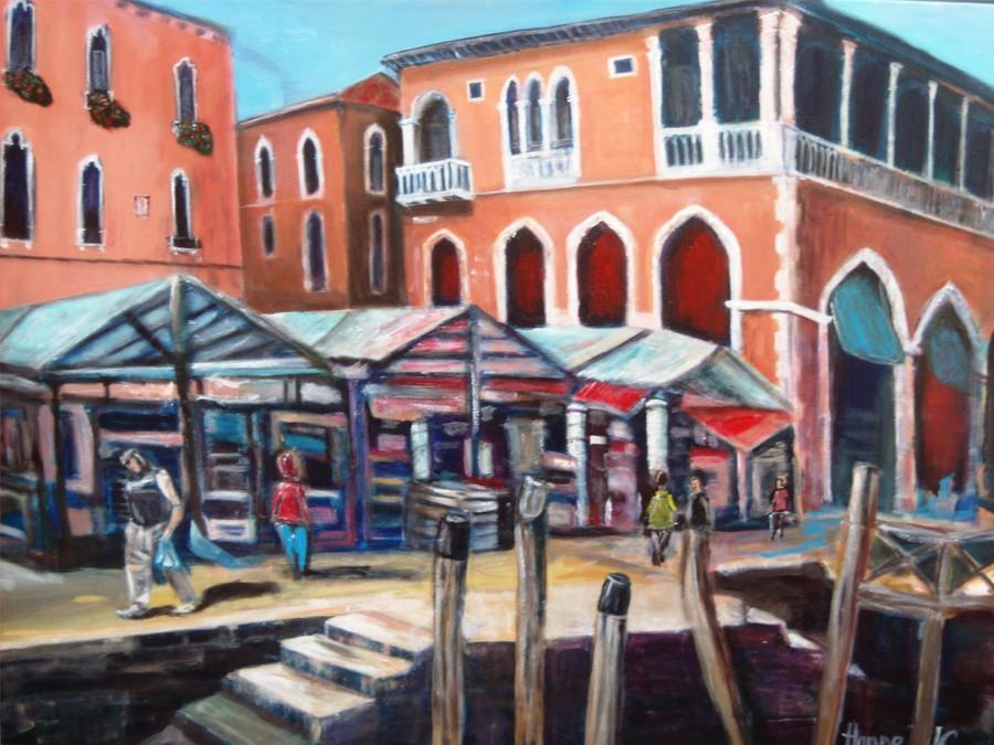 Fischmarkt-Venedig