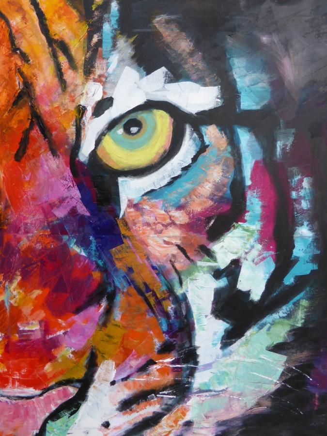 Tigeransicht